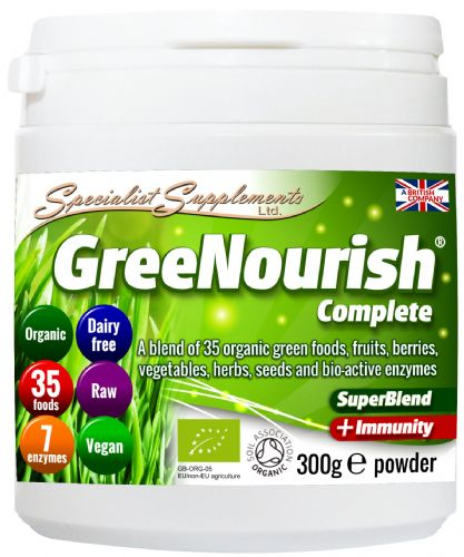 GreeNourish - The Orgainic Super Nutritious Food For All